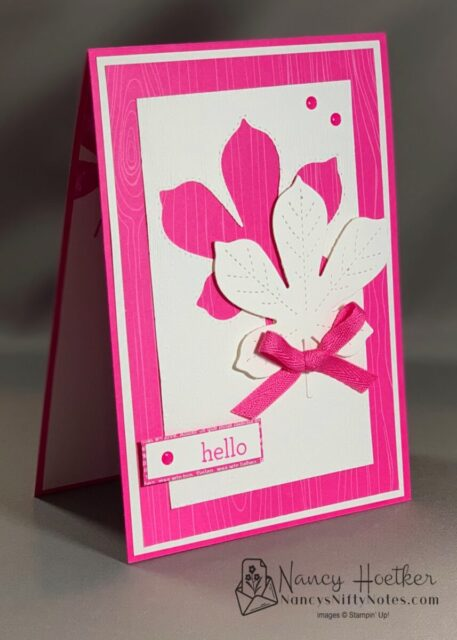 2020-2022 In Colors Love of Leaves Cards 4