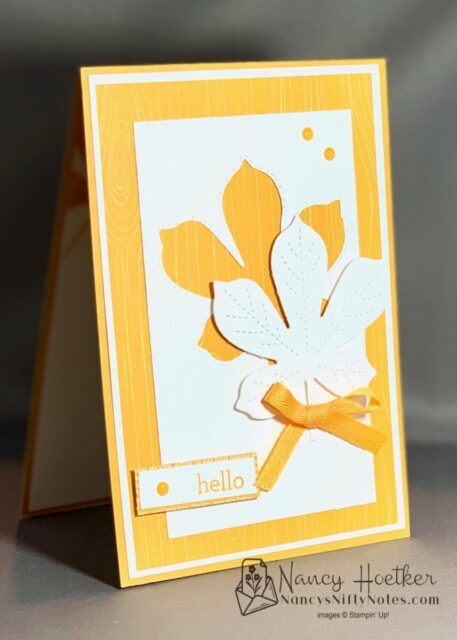 2020-2022 In Colors Love of Leaves Cards 3